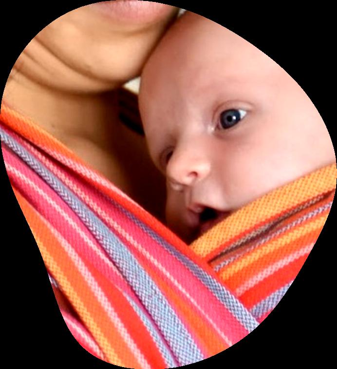 Atelier portage de bébé en écharpe - Echarpe&Comptine