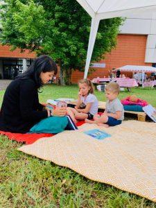 ateliers éveil signes -Echarpe&Comptine à Toulouse