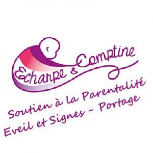 Echarpe-&-comptine - soutien à la parentalité - Eveil et Signes - Formation en crèche - Portage de bébé