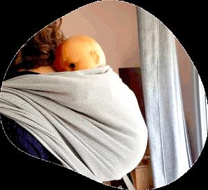 écharpe-&-comptine - atelier portage bébé en écharpe